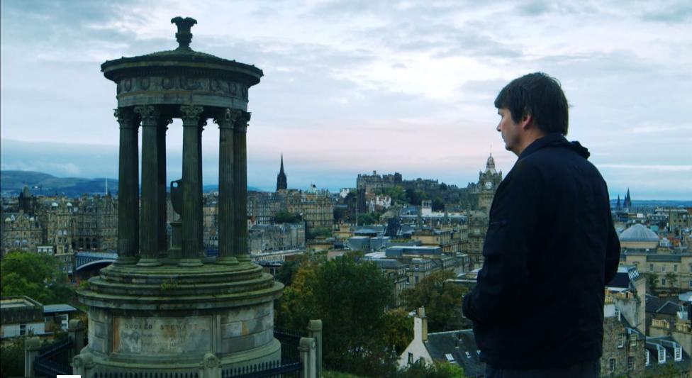 Crime novelist Ian Rankin looks at the city of Edinburgh.