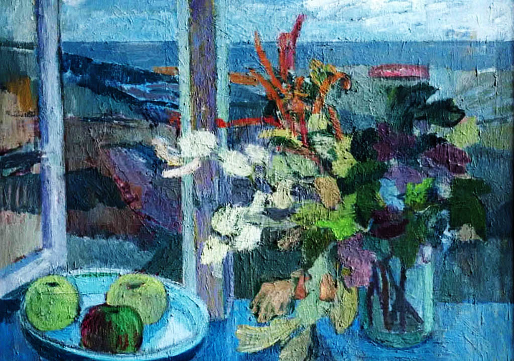 A still life by Tove Jansson, from the documentary film Escape From Moominville.