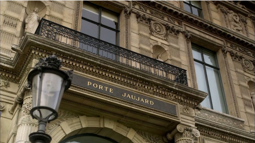 This entrance to the Louvre Museum in Paris was named after Jacques Jaujard, the man who saved the museum's art from destruction during World War II.