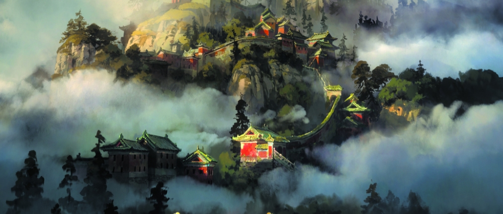 Image from the animated film 108 Demon Kings.