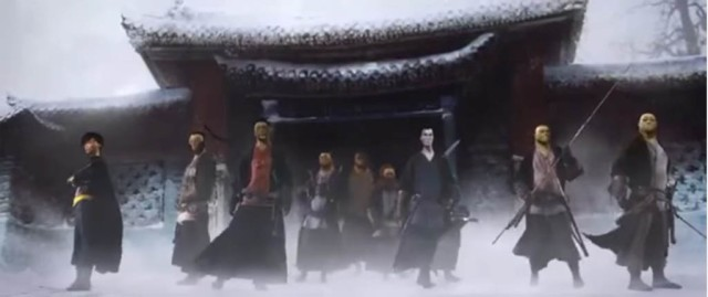 108 Demon Kings is based on the classic Chinese novel The Water Margin.