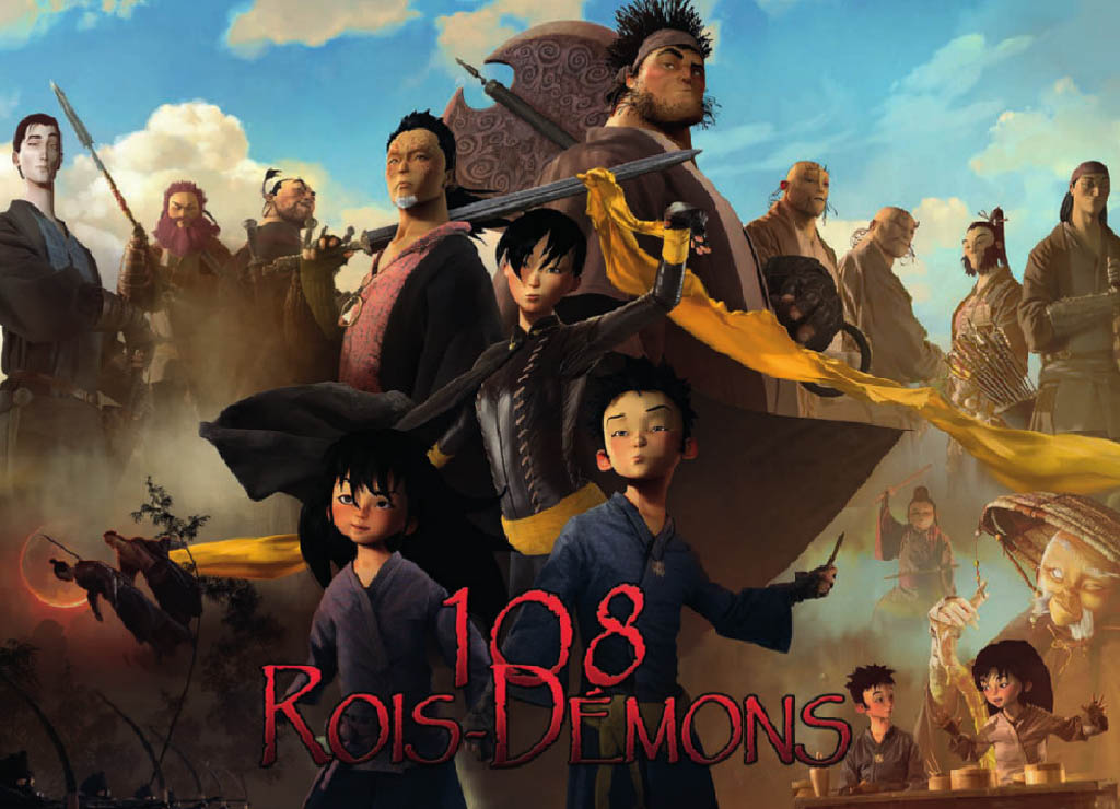 108 Demon Kings is set in 12th century China and based on the classic novel The Water Margin.