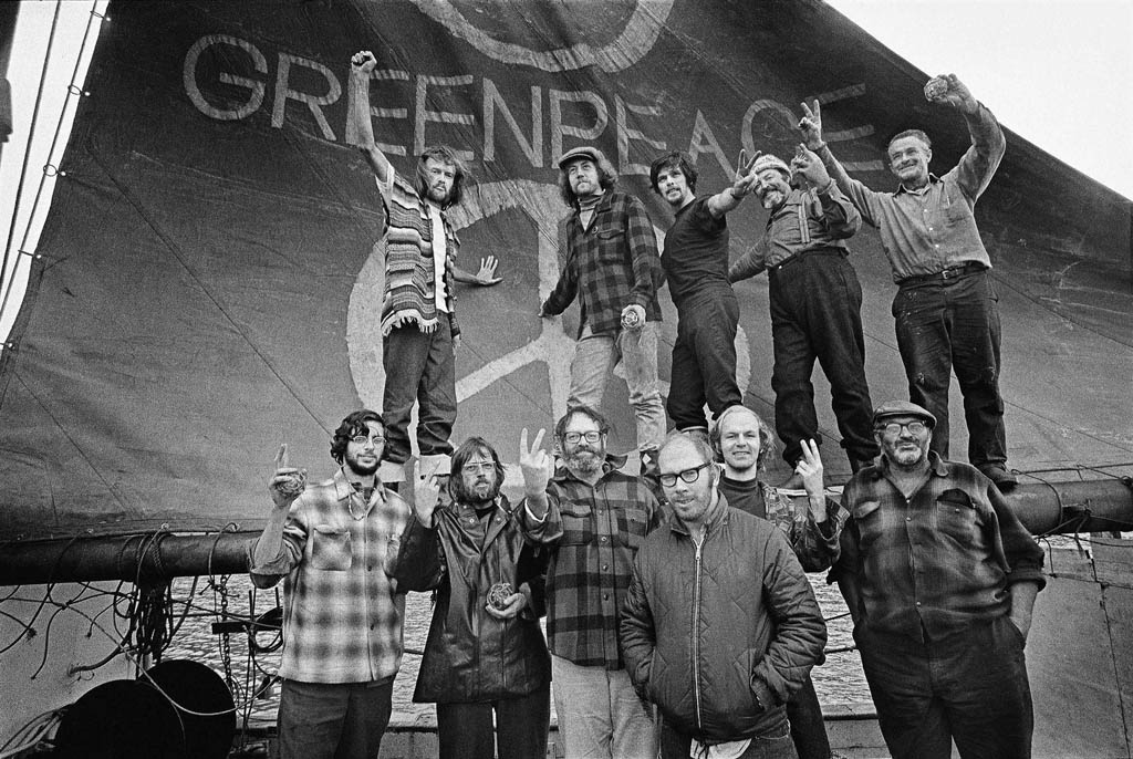 Canadian hippie journalists, photographers, musicians, scientists, and U.S. draft dodgers were among the people who created Greenpeace.