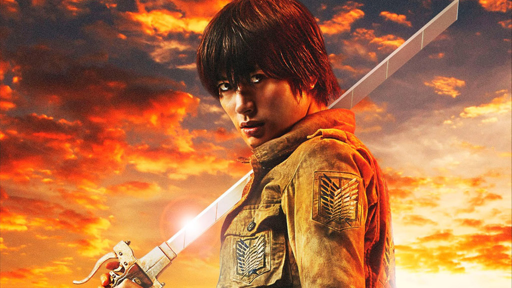 Tickets for the Japanese film Attack on Titan were in high demand as well. Haruma Miura, above, plays Eren.