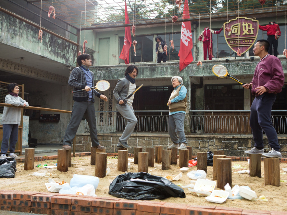 Badminton training in the Hong Kong sports comedy Full Strike, one of the films being shown at the 2015 Fantasia International Film Festival.