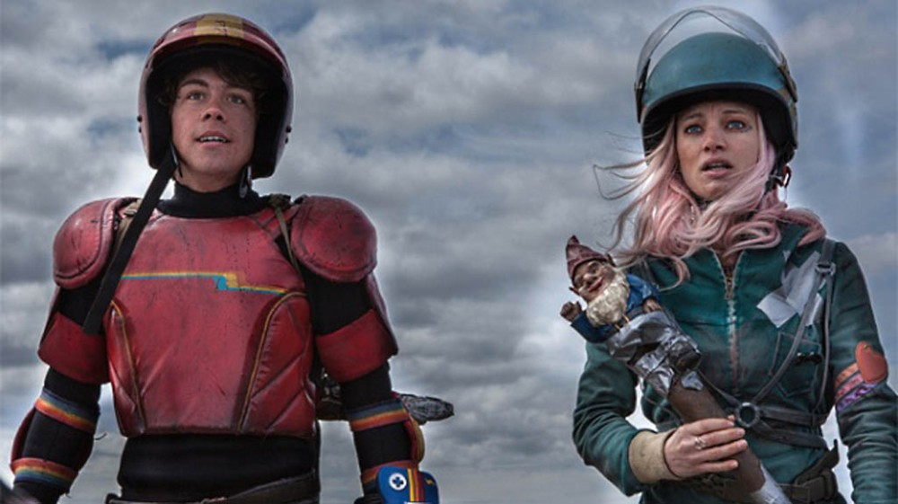 Tickets to the Quebec film Turbo Kid were all snapped up minutes after the box office opened at the Fantasia International Film Festival. Munro Chambers, left, plays the Kid, and Laurence Leboeuf plays Apple.