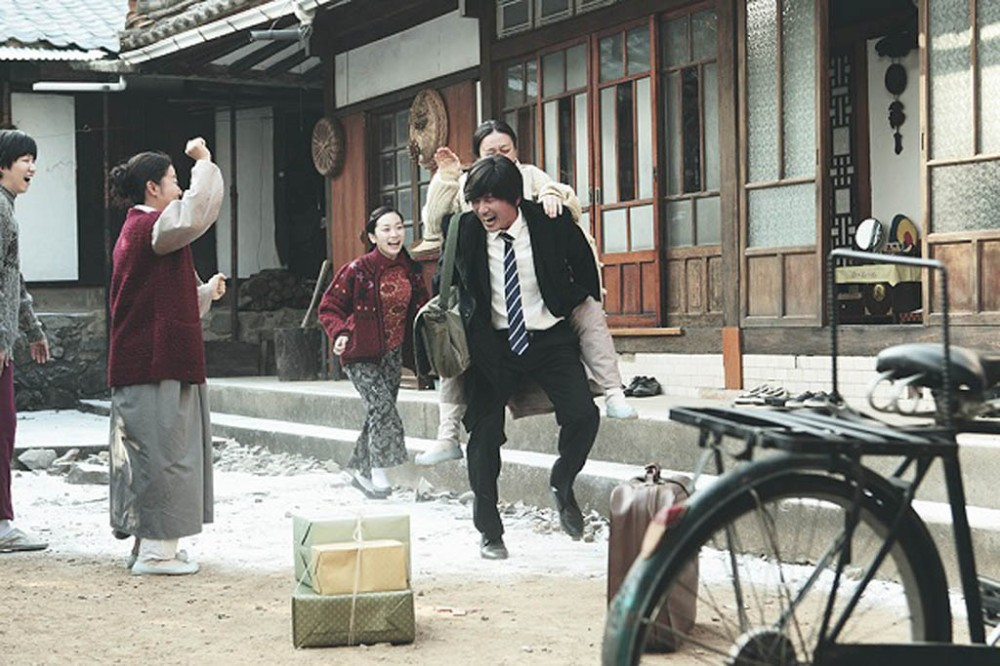 Scene from the Korean film Ode To My Father, also known as International Market.