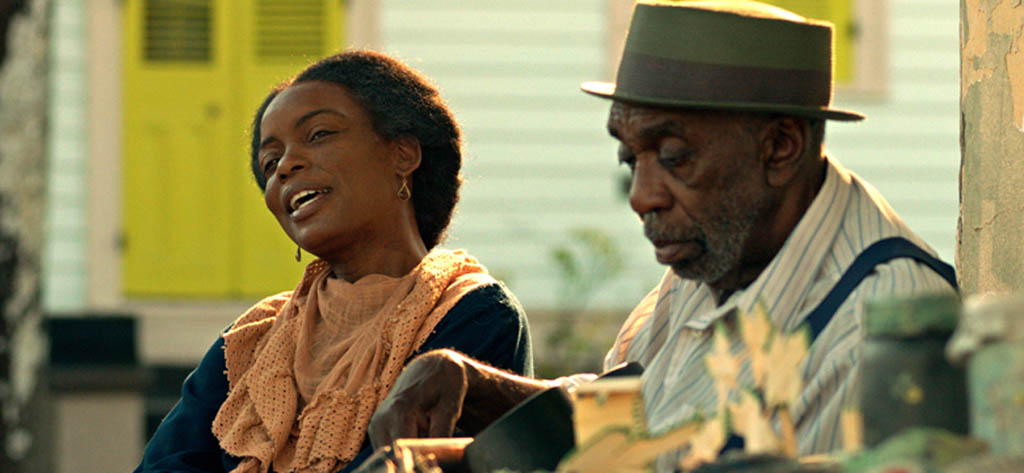 Aunjanue Ellis, left, and Bill Cobbs in Una Vida: Of Mind and Music, one of the films being shown at the 2015 Montreal International Black Film Festival.