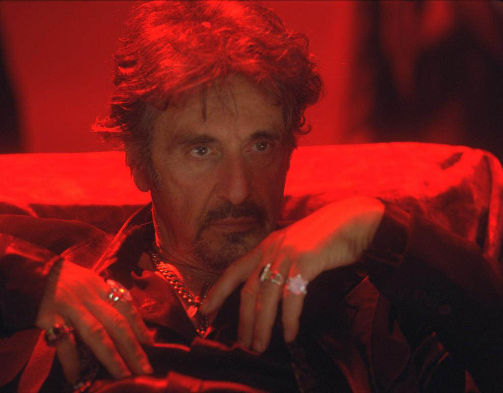 Al Pacino can be seen as King Herod in the films Wild Salome and Salome. The films will be presented, twice, as a double bill at the Festival du nouveau cinema in Montreal.