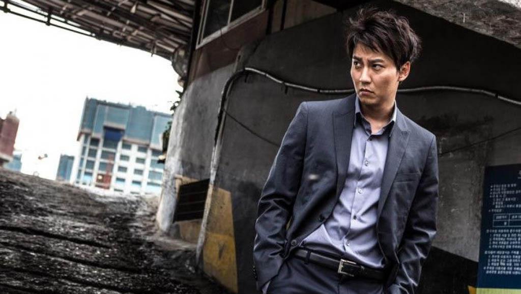 A scene from the South Korean film The Shameless.