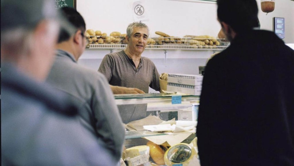 Vancouver deli owner Salam Kahil is the star of the documentary film The Sandwich Nazi. The film was directed and edited by Lewis Bennett. It's one of many films being shown at Montreal's Festival du nouveau cinŽema. (Photo by Rommy Ghaly)