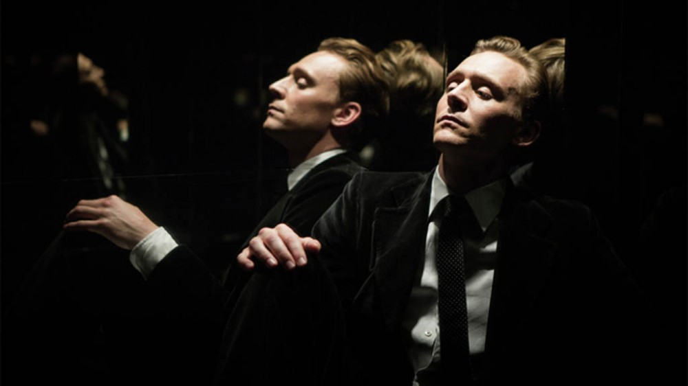 Tom Hiddleston plays a drunken Dr. Robert Laing in this scene from the film High-Rise. It's based on a novel by J.G. Ballard and directed by Ben Wheatley. The film is being shown at the Festival du nouveau cinema in Montreal.