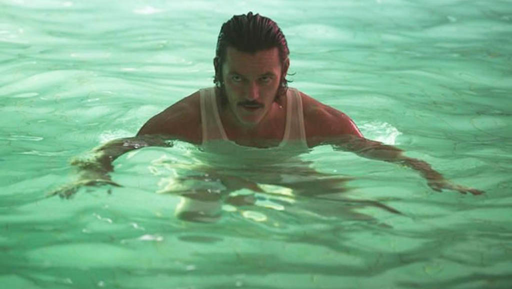 Luke Evans plays glowering Richard Wilder in the fim High-Rise.