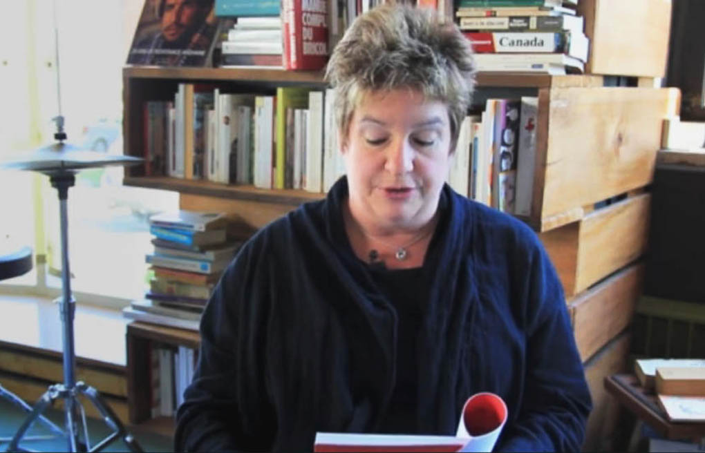 "Author Lucie Joubert decries ""frenetic maternalism"" in her book L'Envers du landau."