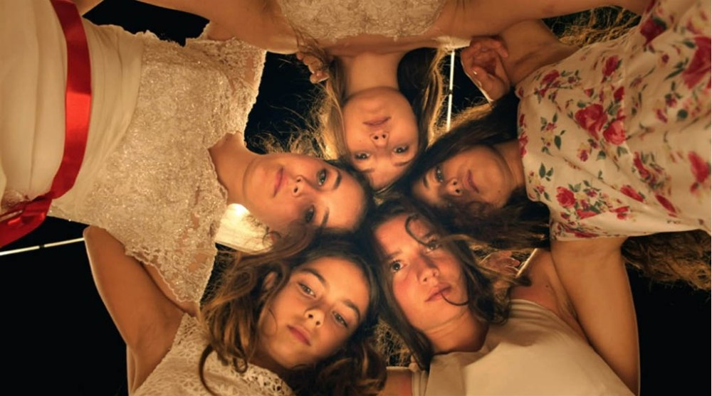 The young women who play sisters in the film Mustang have a great rapport and are very believable as siblings. (Metropole Films)