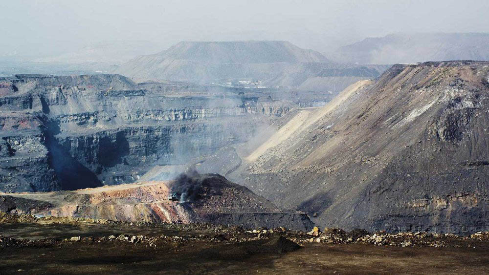 Zhao Liang's documentary film Behemoth shows how parts of Inner Mongolia have been destroyed by coal mining.