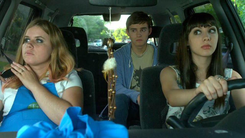 Jessie Ennis plays Martine, Michael Johnston plays Neil and Hannah Marks plays Julia in the film Slash. It was shown in Montreal during the Fantasia International Film Festival.