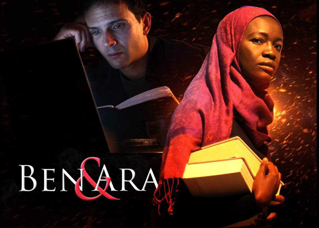 In the film Ben & Ara, Joseph Baird plays Ben and Constance Ejuma is Ara.