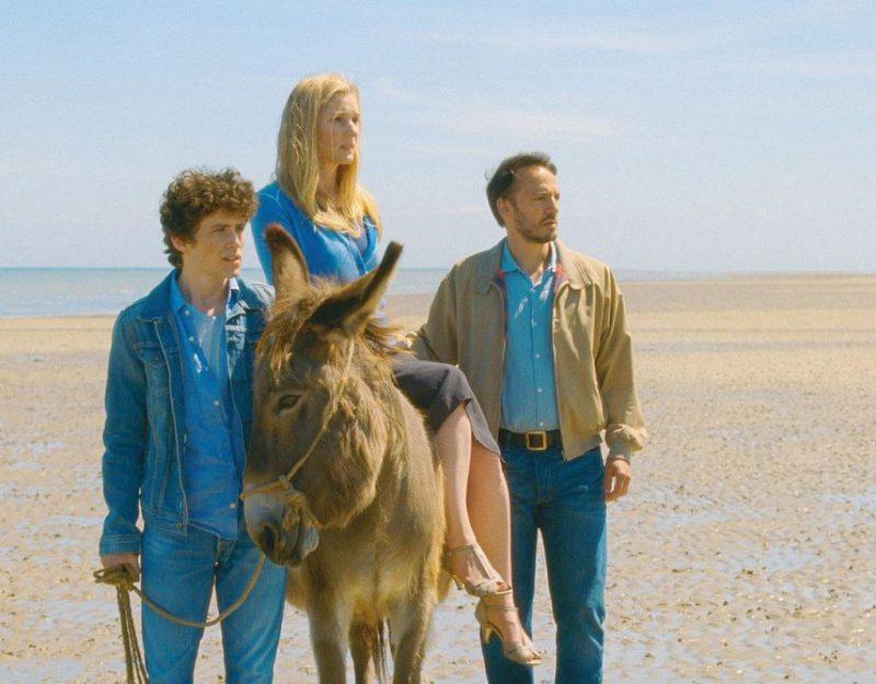 Victor Ezenfis, Natacha Regnier, Fabrizio Rongione in Son of Joseph (Le Fils de Joseph).