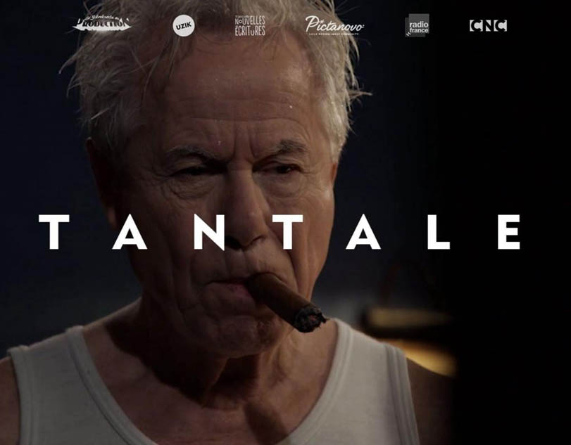 Francois Marthouret plays the cigar-chomping president of France in the interactive film Tantale.