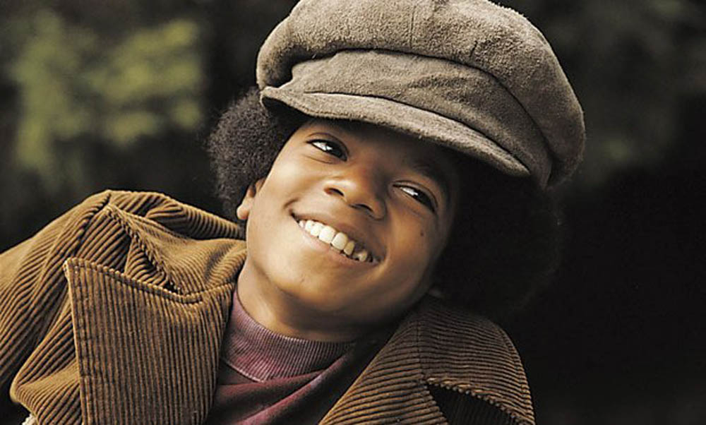 Singer Michael Jackson in his younger days.