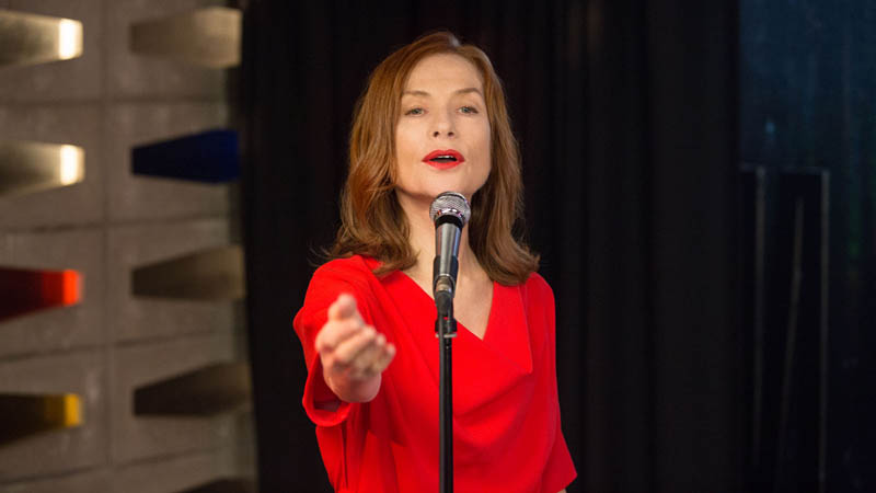 In the film Souvenir, Isabelle Huppert plays a singer who lost a contest to ABBA in her younger days. Souvenir is being shown at the Cinemania film festival in Montreal.