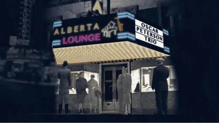 Oscar Peterson had a regular gig at Montreal's Alberta Lounge.