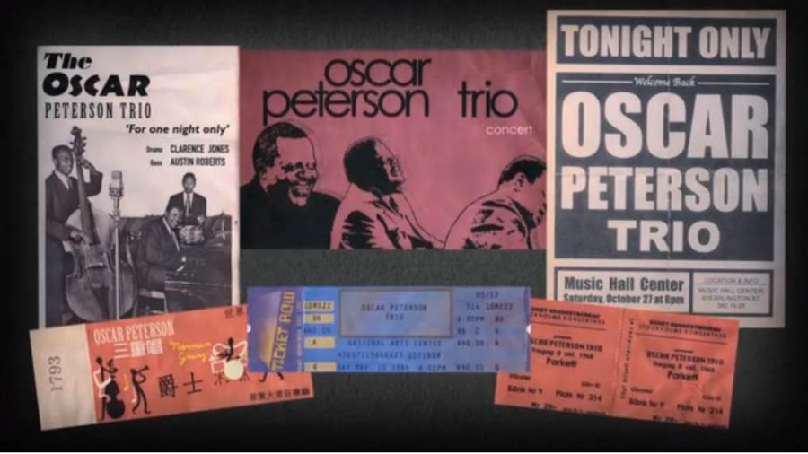 A screen grab from Oscar, an NFB/ONF documentary about jazz pianist Oscar Peterson. The film was directed by Marie-JosŽe Saint-Pierre.