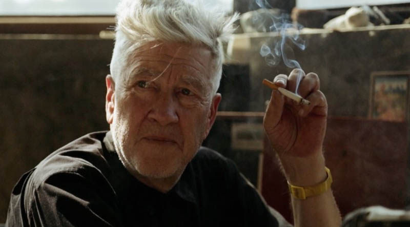 An image from David Lynch: The Art Life. The documentary is being shown at Montreal's RIDM film festival.