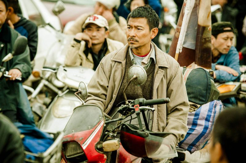 In the film Lost and Love (2015) Andy Lau plays a man who travels thousands of miles throughout China, looking for his son, who was kidnapped as a young child.