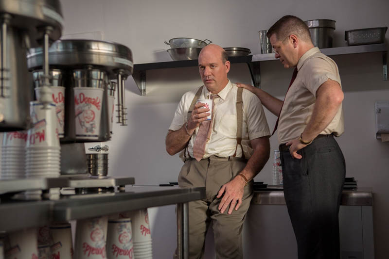 John Carroll Lynch, left, as Mac McDonald, and Nick Offerman as Dick McDonald, in the film The Founder. (Photo: The Weinstein Company)
