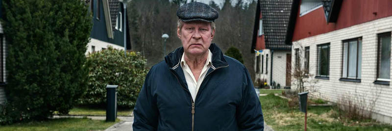 Rolf LassgŒrd plays the title character in A Man Called Ove.