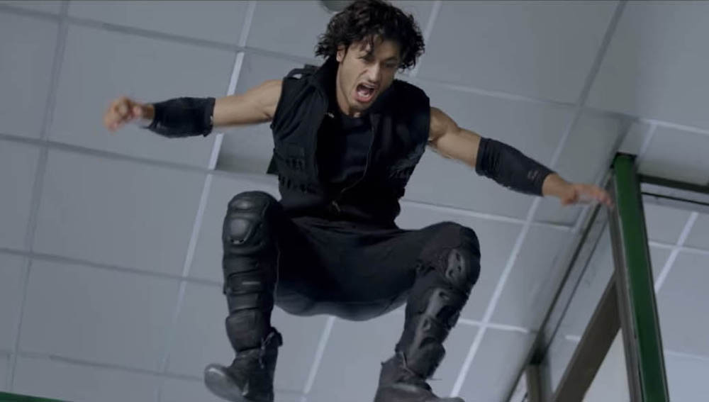 Vidyut Jammwal in the action film Commando 2.